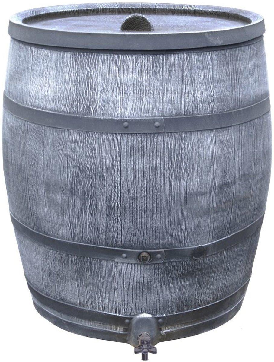 Roto regenton eikenhout 350 liter kunststof houtlook grijs kopen