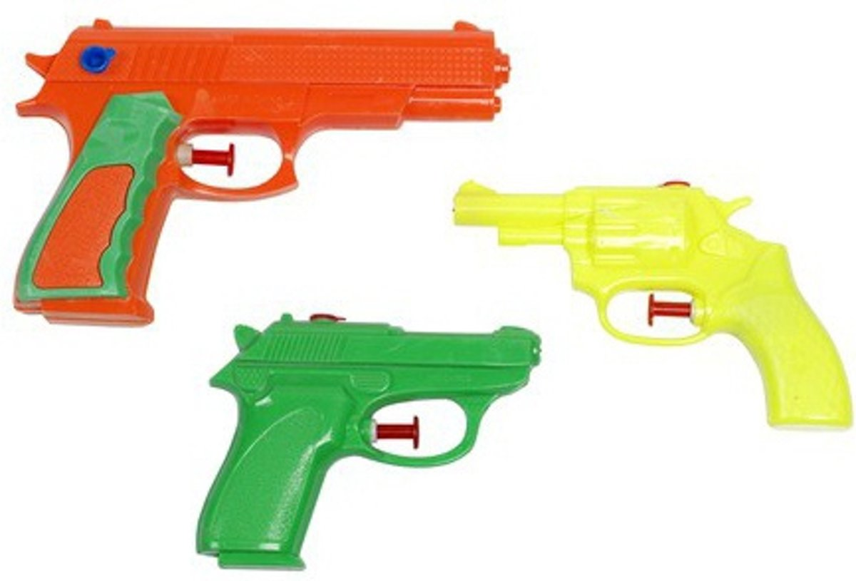 Waterzone Waterpistolen Set 11/13/16,5 Cm