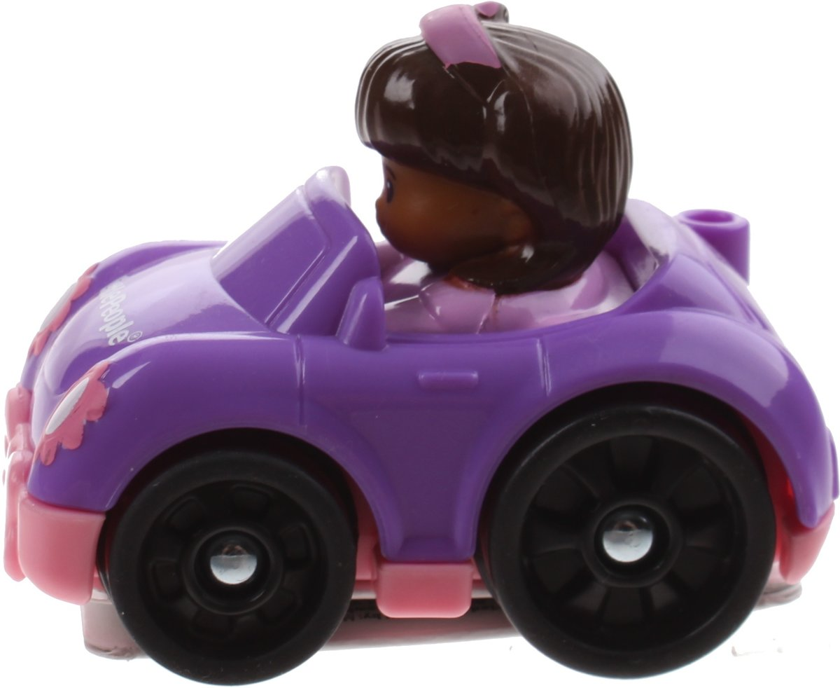 Fisher-price Little People Wheelies Auto 6,5 Cm Paars (bgc62)