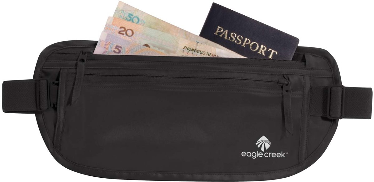 Eagle creek Silk Undercover™ Money Belt Money belt Unisex - Zwart kopen