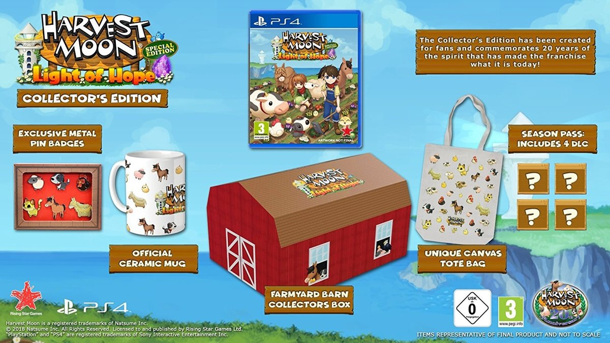 Harvest Moon: Light of Hope Collector's Edition PlayStation 4