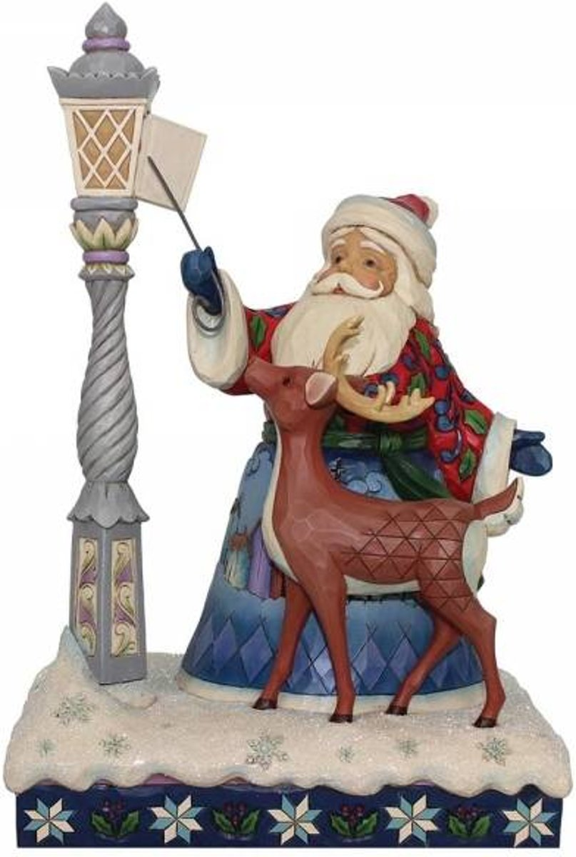 Jim Shore: Kerstman  Beelden & Figuren kopen