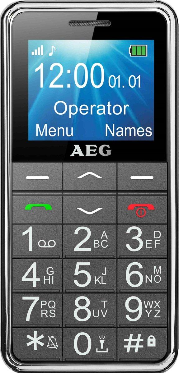 AEG VOXTEL SM250 1.8'' Grijs Seniorentelefoon mobiele telefoon kopen