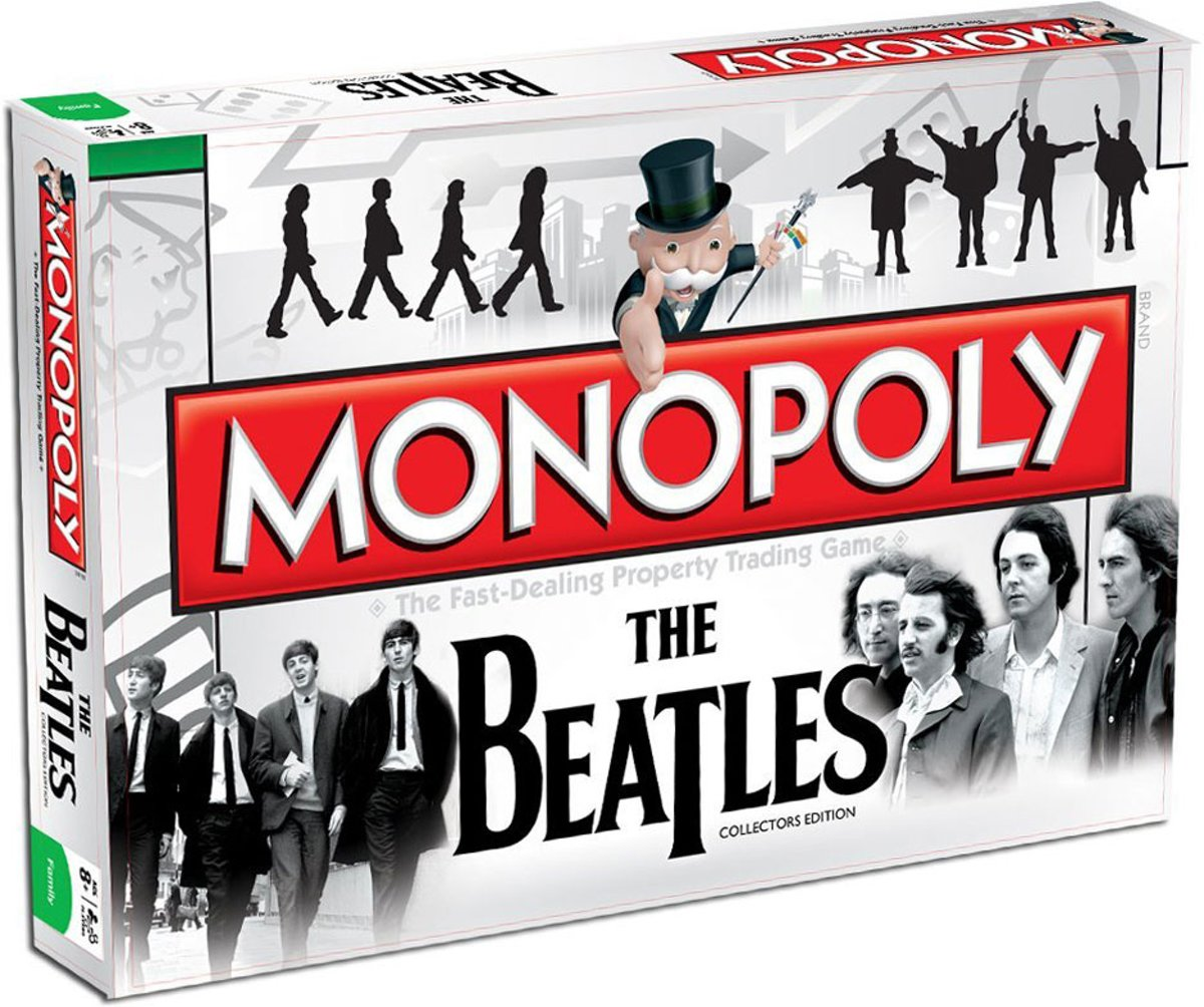 Monopoly - The Beatles - Bordspel