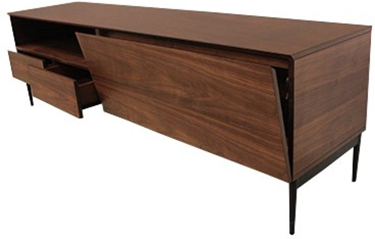 Notenhouten tv meubel televisie meubel notenhout with notenhouten