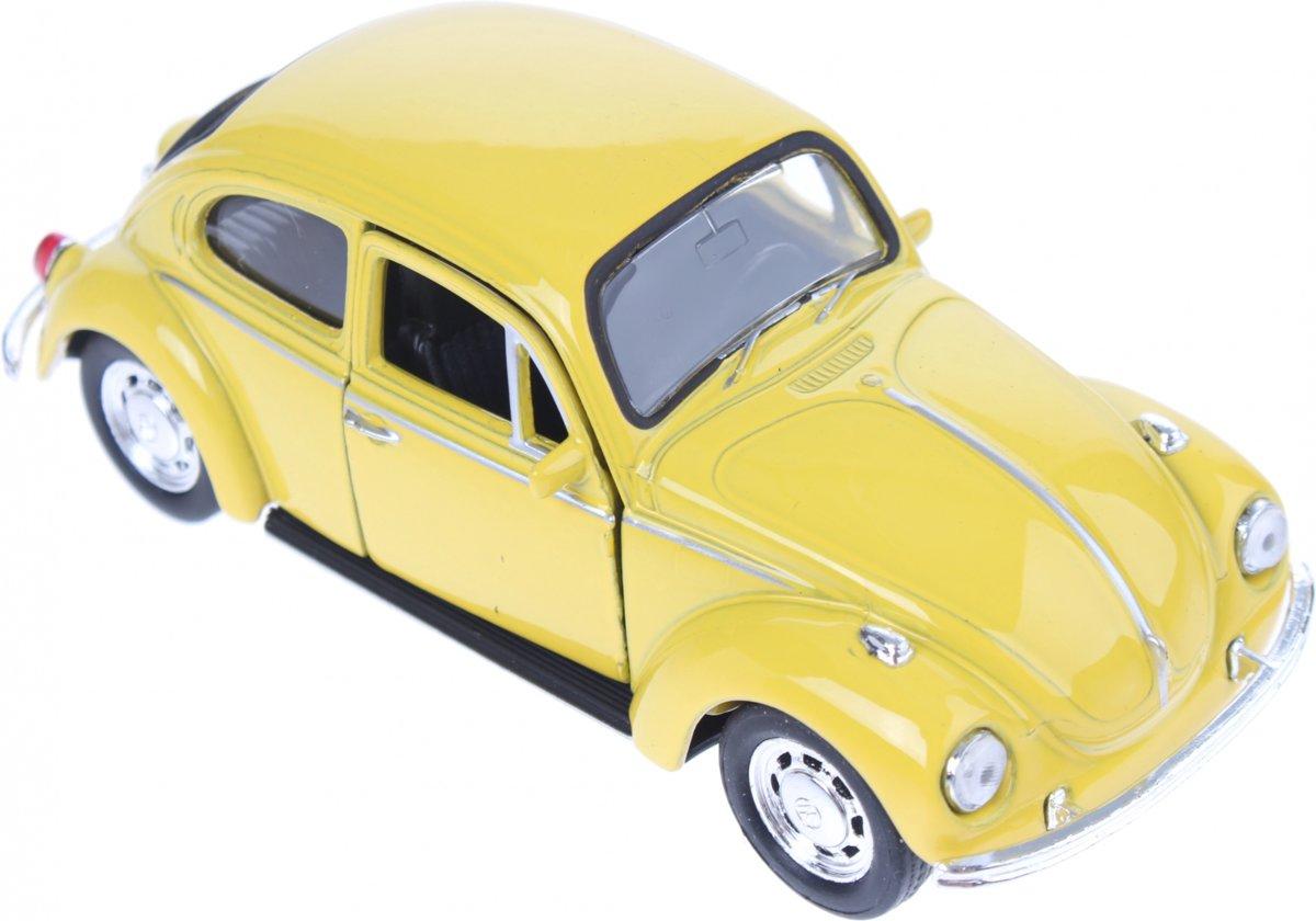 Welly Schaalmodel Volkswagen Beetle Geel