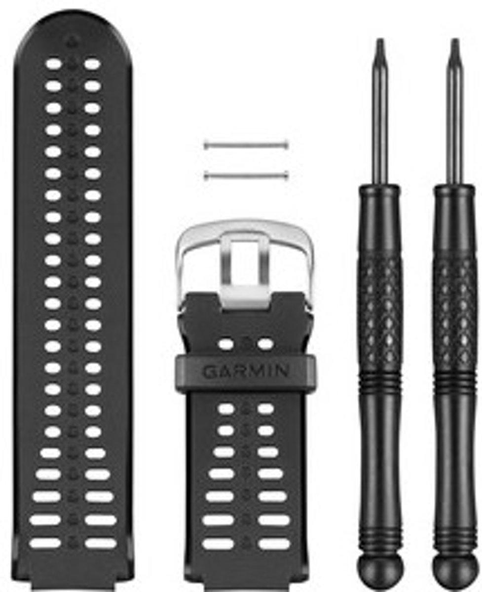 Vervanging Polsband Forerunner 225 zwart kopen