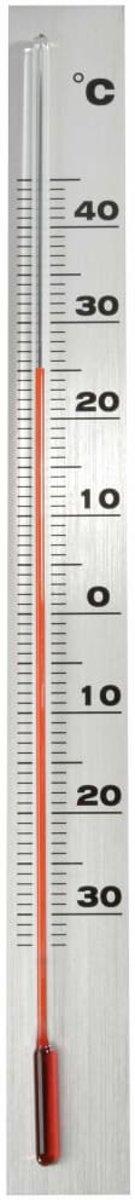 Muurthermometer aluminium 37x3,8x0,6cm kopen