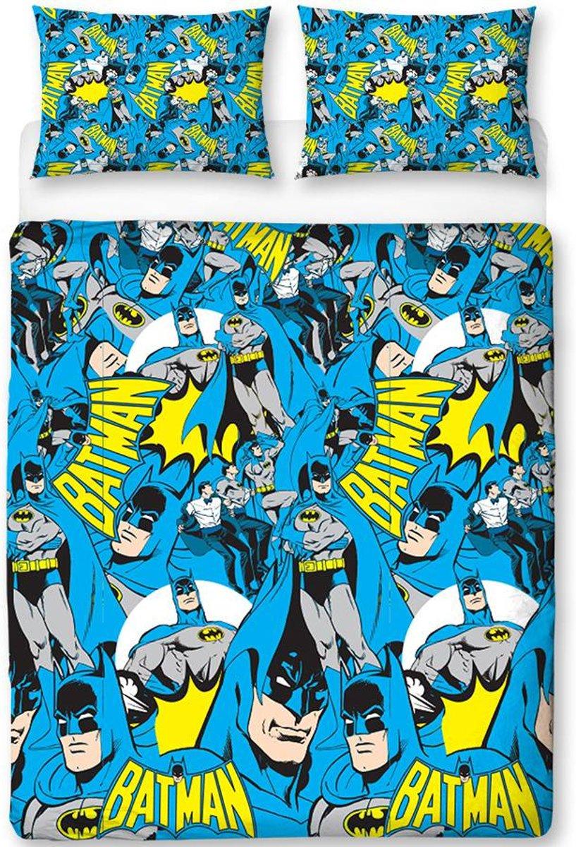 Batman Hero - Dekbedovertrek - Tweepersoons - 200 x 200 cm - Multi kopen
