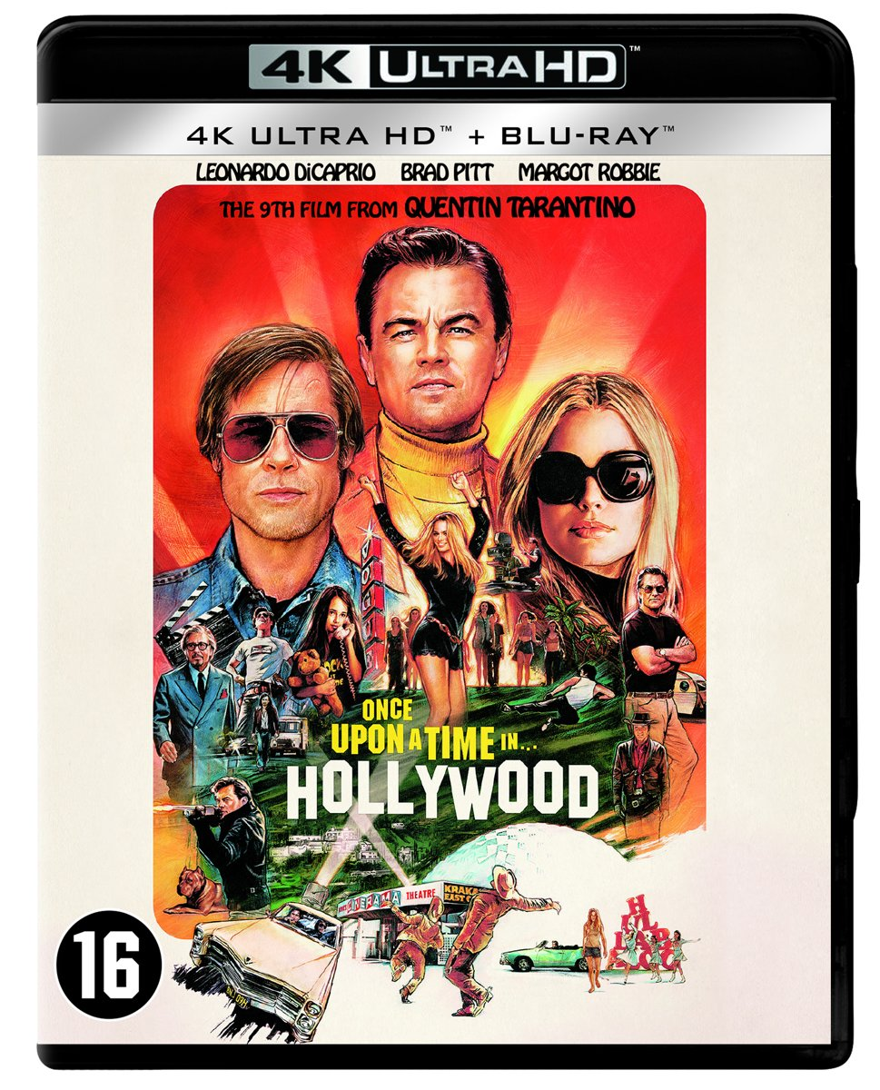 Once Upon A Time In Hollywood (4K Ultra HD Blu-ray)-