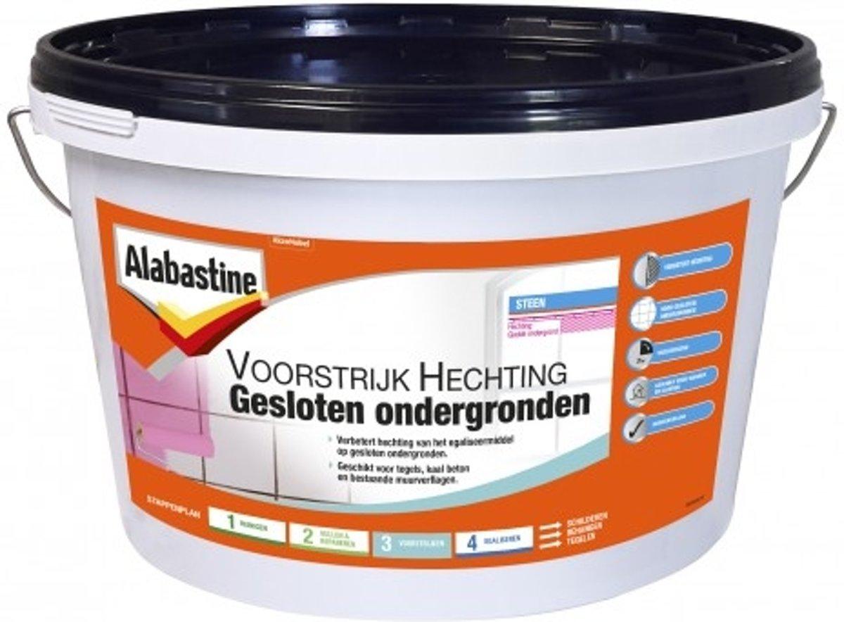 Alabastine voorstrijk hechting gesloten ondergronden - 5 kg. kopen