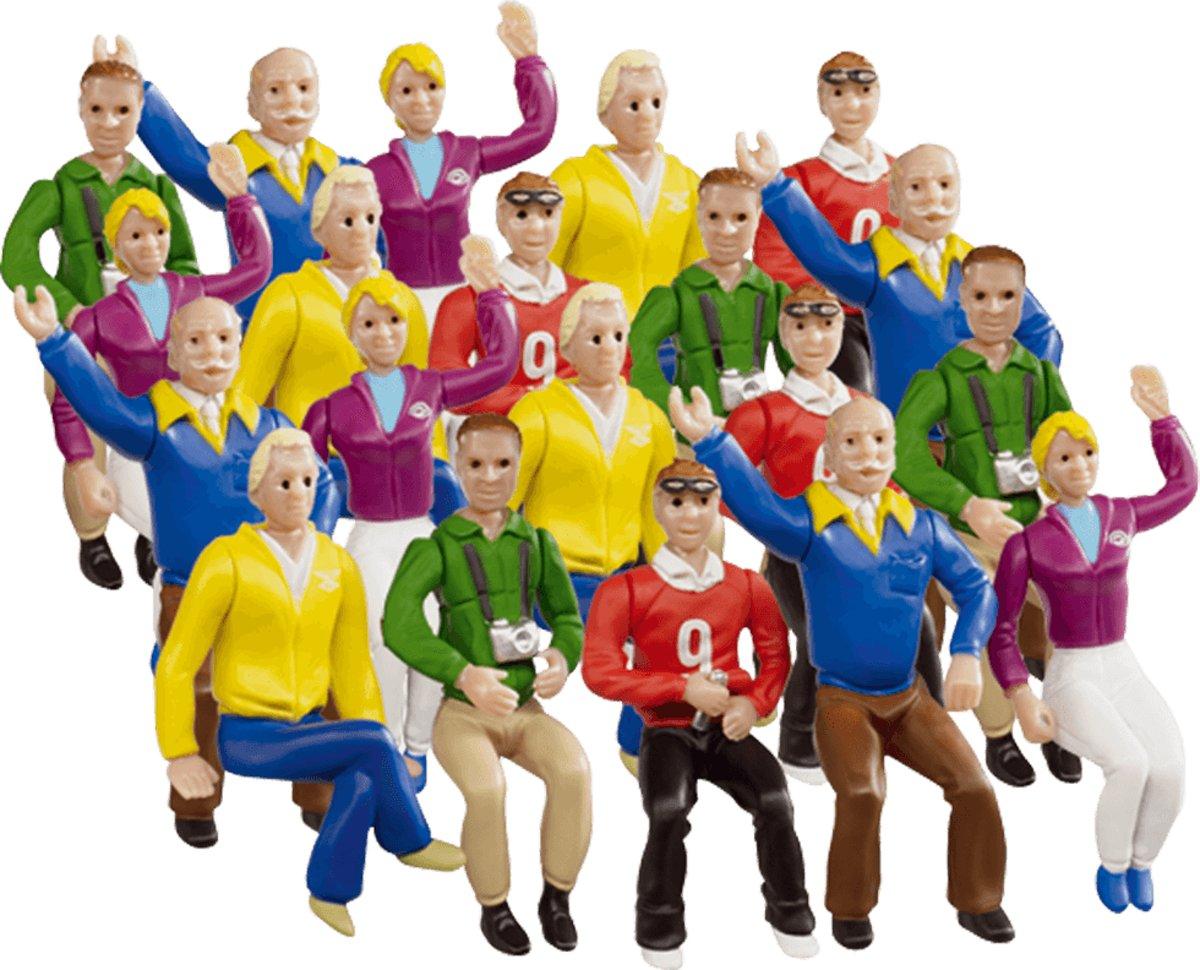Carrera Set of figures Stands - Racebaanonderdeel