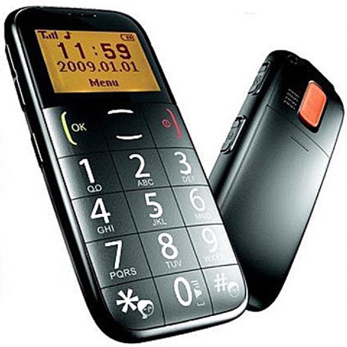 Senioren-Handy - senioren telefoon / mobiel met alarmknop kopen
