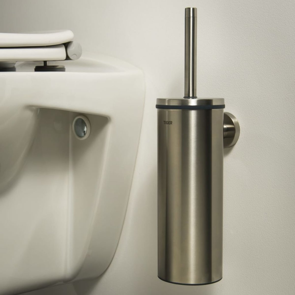 Genoeg bol.com   Tiger Boston Toiletborstel met houder - RVS Geborsteld DR25