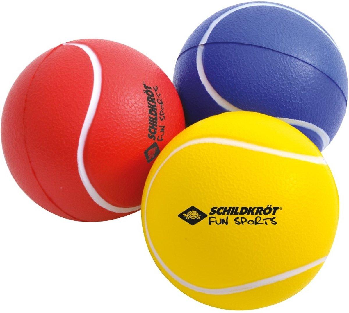 Donic Schildkröt Ballenset 7 Cm Rood/geel/blauw 3 Stuks