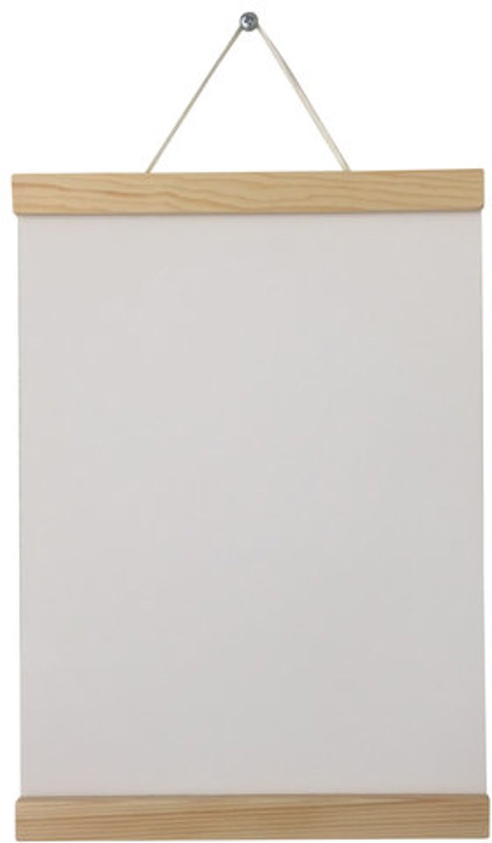 Poster Display Hanger Frame voor A4 poster | Hout | 21 cm | Naturel