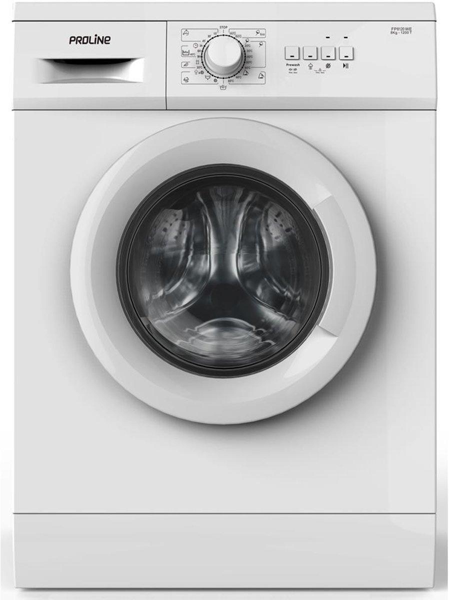 Proline FP8120WE - Wasmachine
