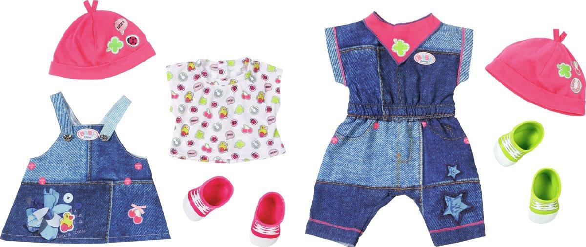 BABY born Deluxe Jeanscollectie 1 setje - Kleertjes