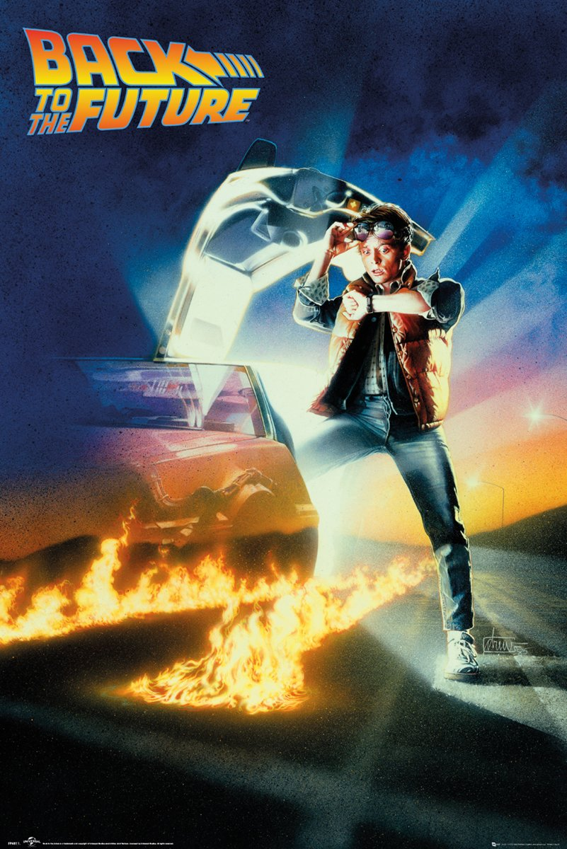 Poster-filmposter-Back to the Future- (68x98cm) kopen