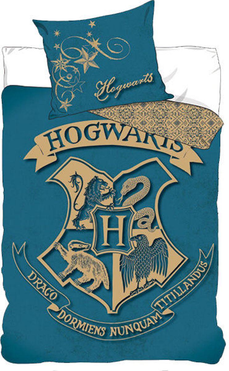 Dekbedovertrek Harry Potter Hogwarts (140cm x 200cm) single kopen