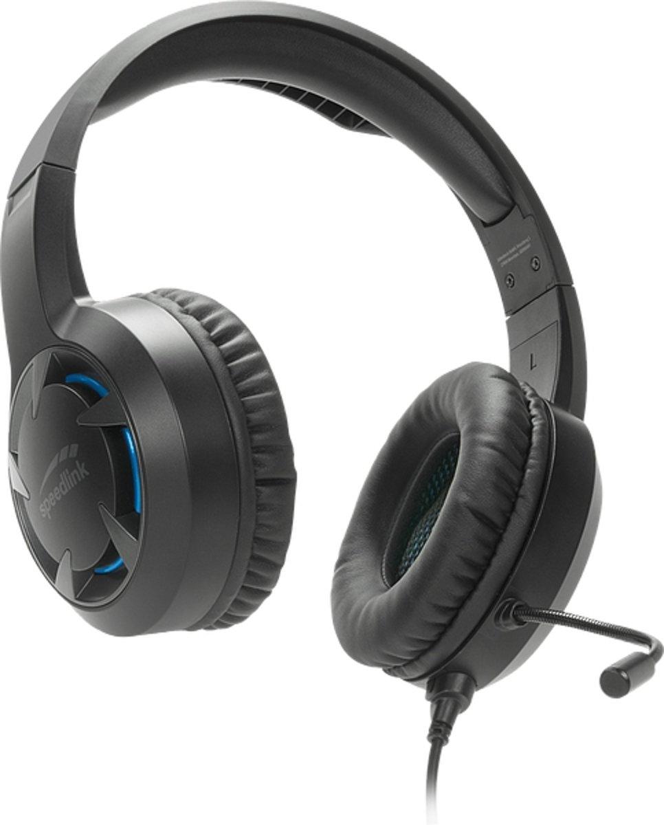 Speedlink Casad Gaming Headset - Zwart - PS4 kopen