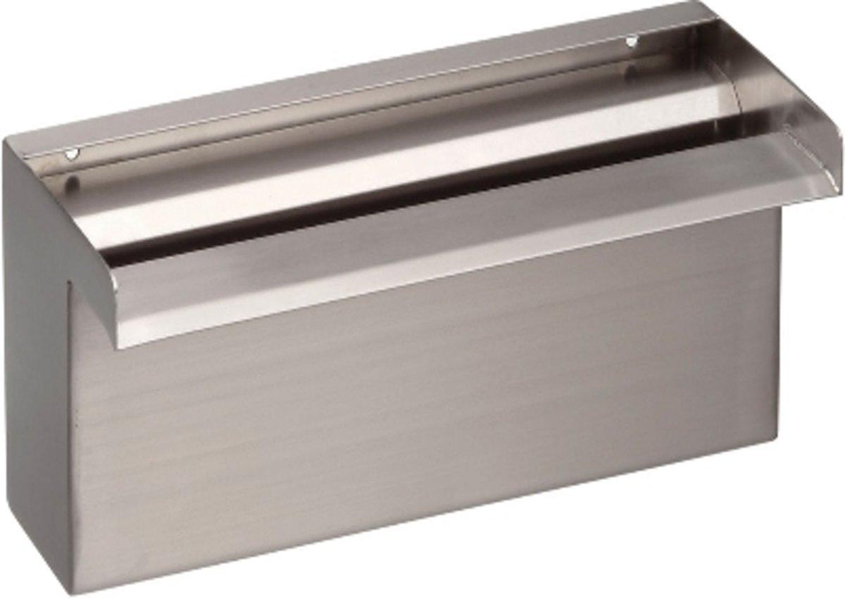 RVS WATERVAL MET LED VERLICHTING 120 CM BREED kopen
