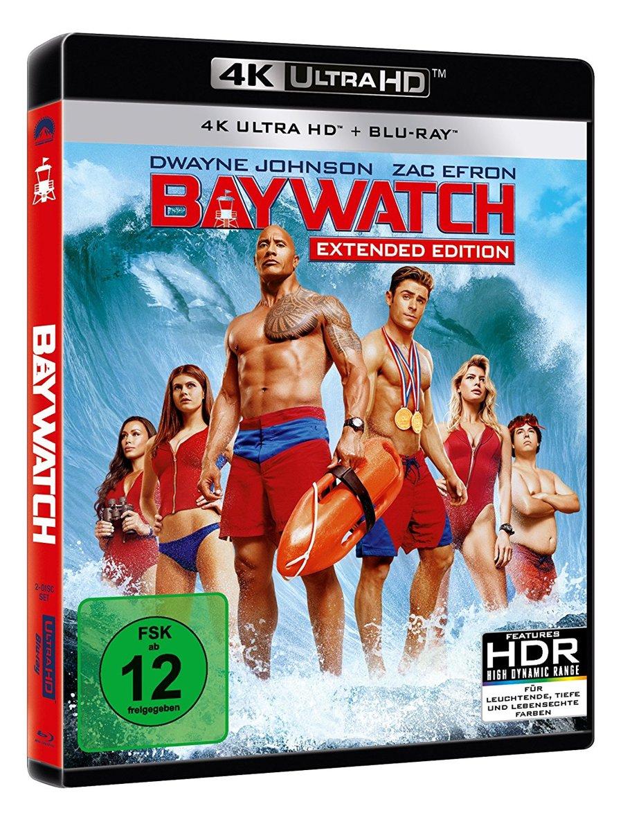 Baywatch (2017) (Kinofassung & Extended Edition) (Ultra HD Blu-Ray & Blu-Ray)-