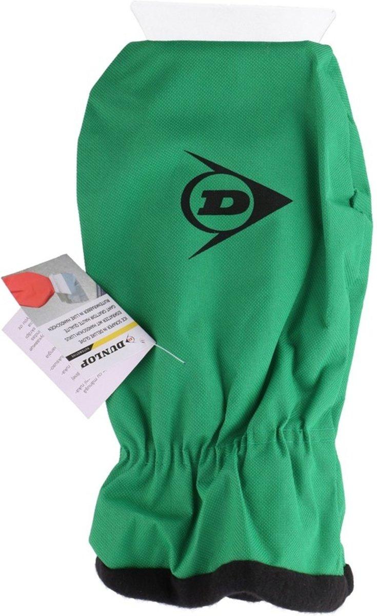 IJskrabber met warme handschoen groen 35 cm kopen