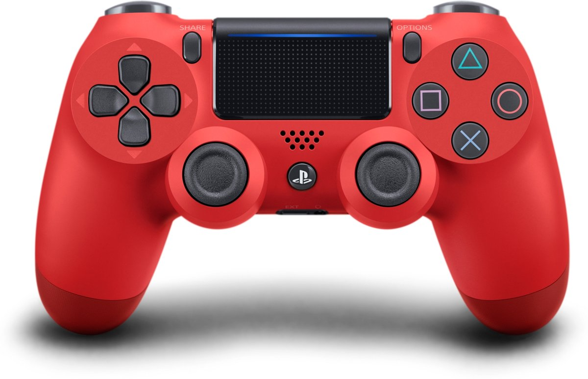Sony PlayStation 4 Wireless Dualshock 4 V2 Controller - Rood - PS4
