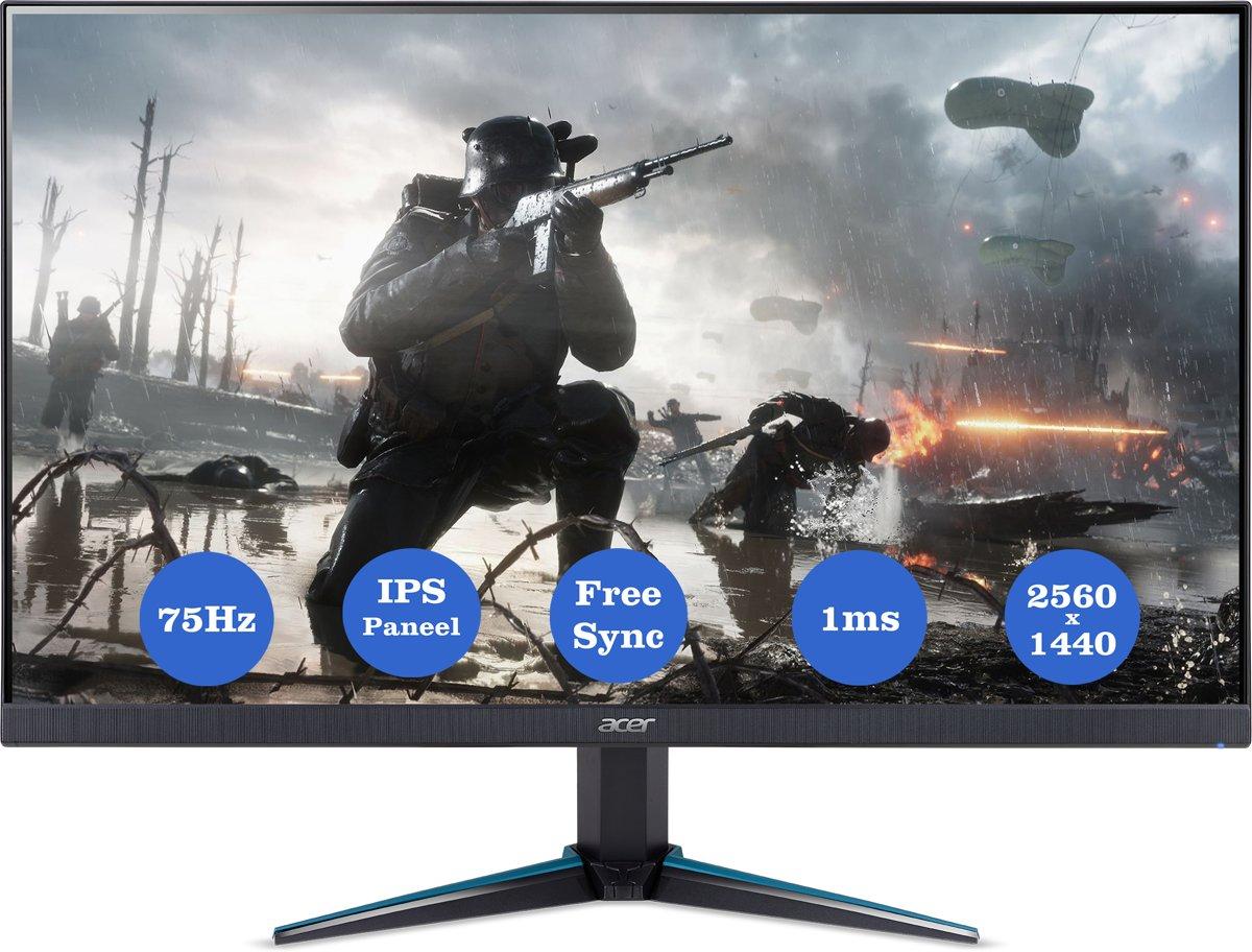 Acer Nitro VG270U - WQHD Gaming Monitor (75Hz)