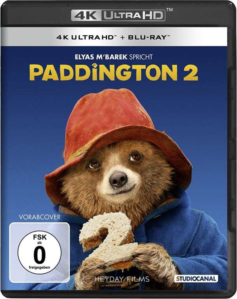 Paddington 2. 4K Ultra HD-