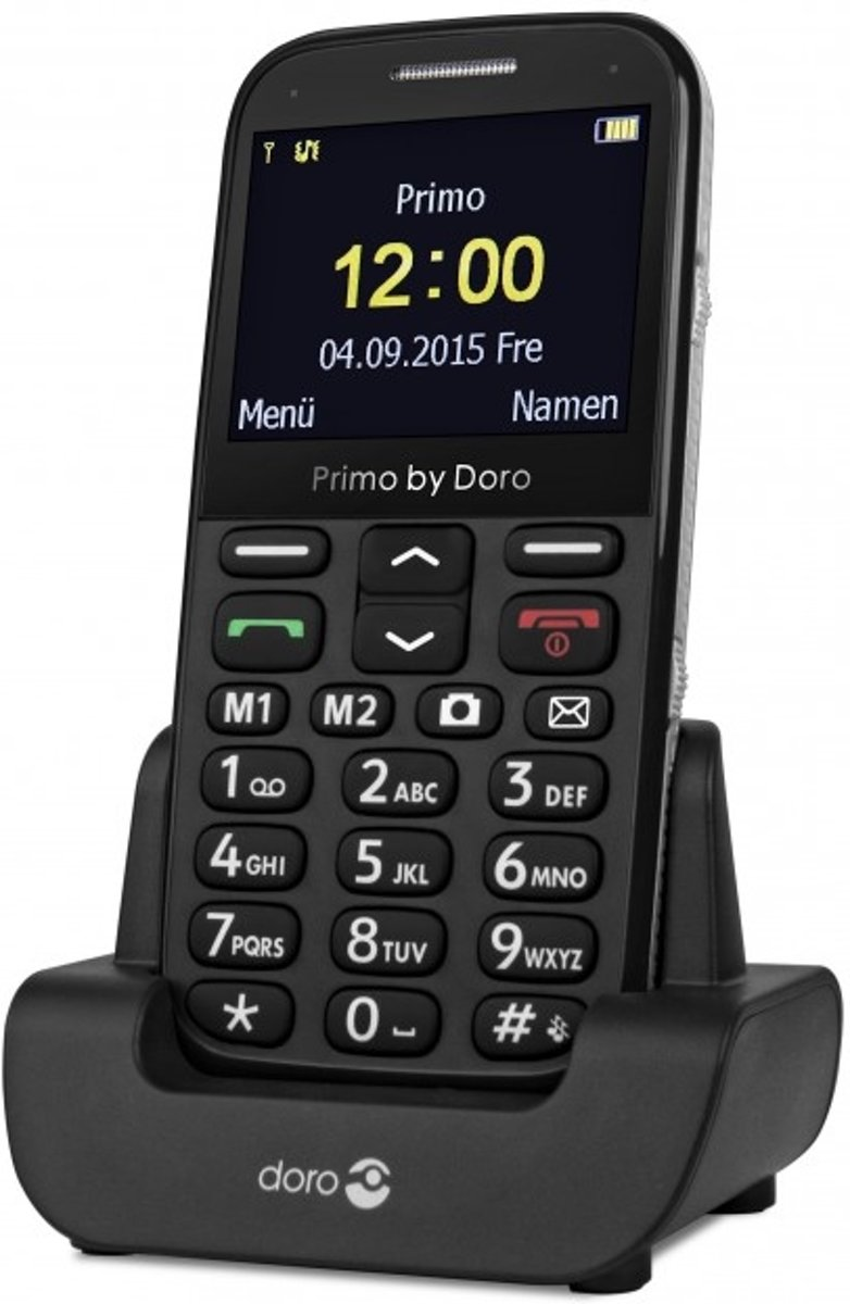 Doro Primo 366 zwart kopen