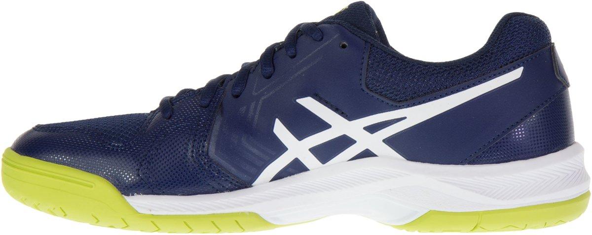 Gel - Asics-jeu Six Chaussures De Tennis En Terre Battue - Hommes - Chaussures - Blanc - 44,5