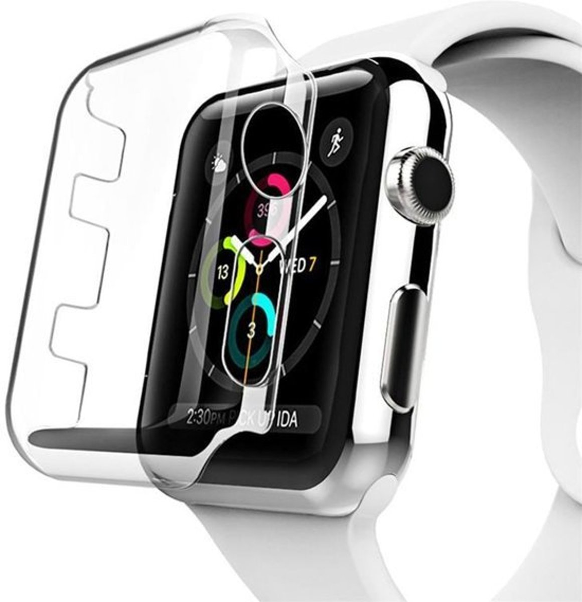 KELERINO. Screen Cover voor Apple Watch Hard Plastic - 4th gen 40mm kopen