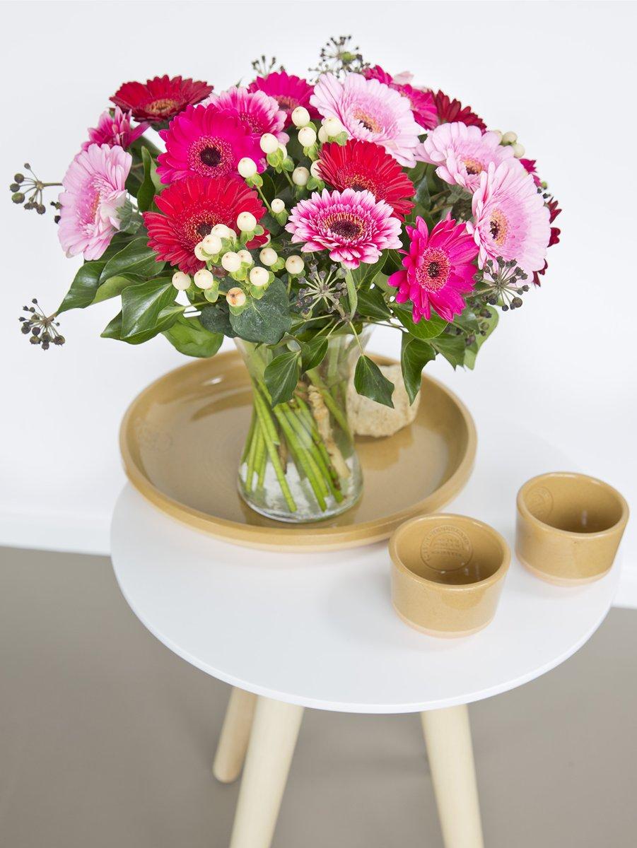 Boeket verse bloemen met kleurrijke Gerbera's kopen