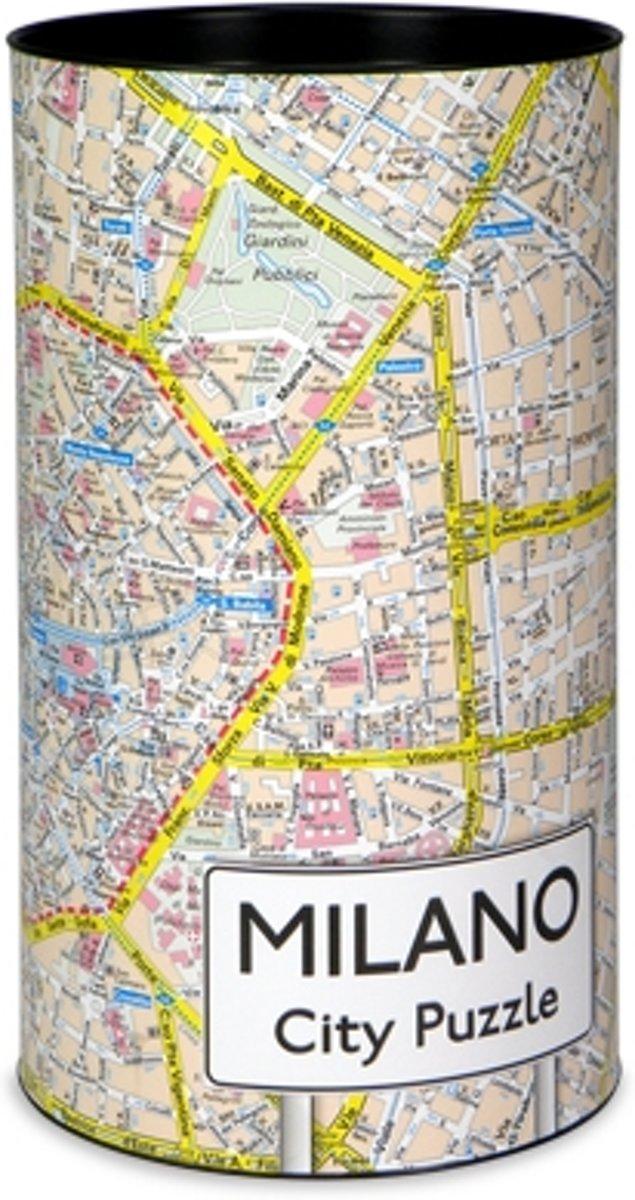 City Puzzle Milaan - Puzzel - 500 puzzelstukjes