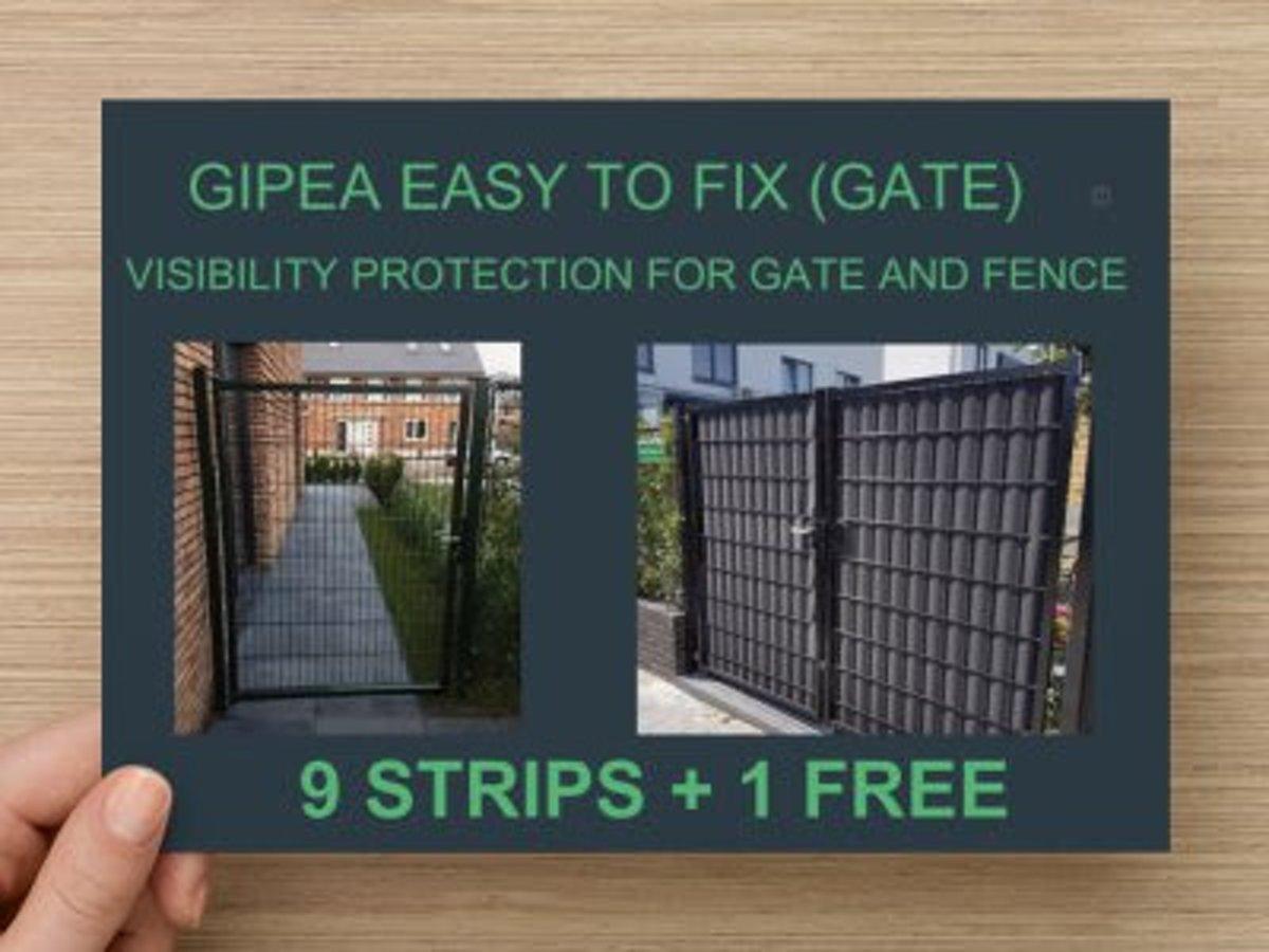 Gipea Easy to fix Vlechtband (GATE) 10 st. RAL 6005 Licht  Groen kopen