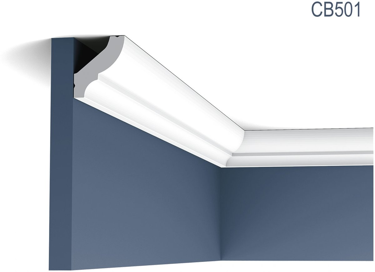 Kroonlijst Origineel Orac Decor CB501 BASIXX Plafondlijst Sierlijst 2 m kopen