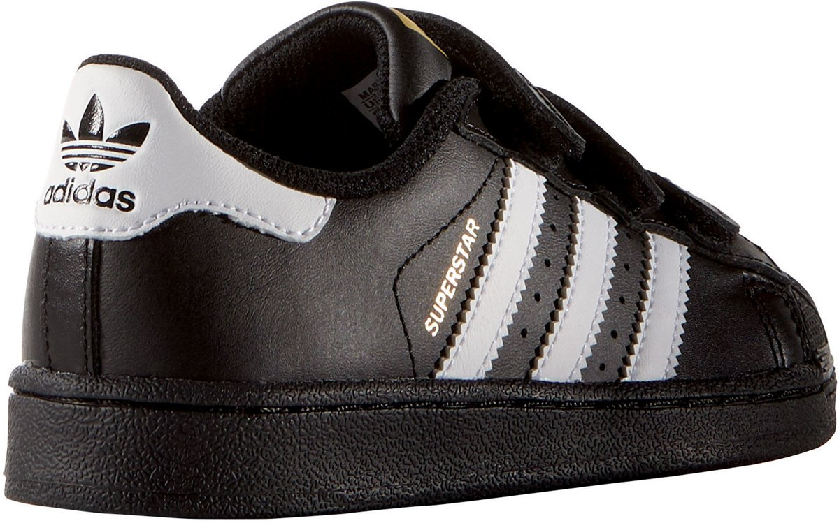 Adidas Superstar Wit Blauw Junior