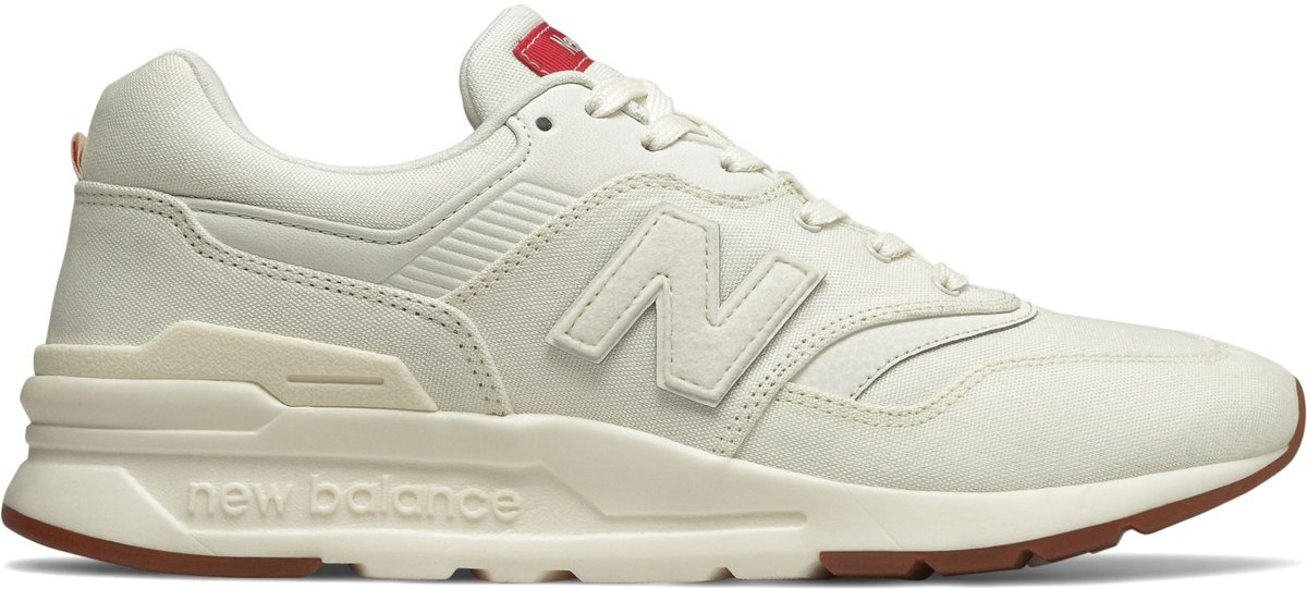 New Balance 997H Sneakers - Maat 41.5 - Mannen - wit/rood