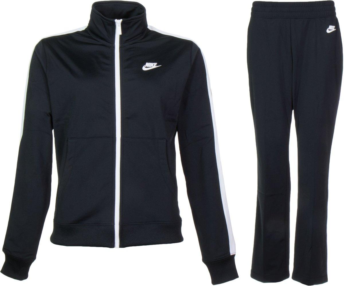 Nike Sportswear Trainingspak Dames Trainingspak Maat M Vrouwen zwartwit