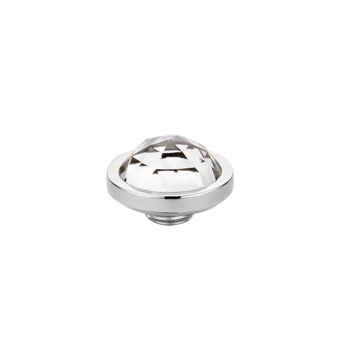 Melano vivid facet steentje - crystal - dames - zilverkleurig - 8mm kopen