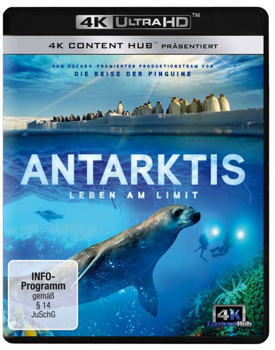 Antarktis (4K)/Blu-ray-