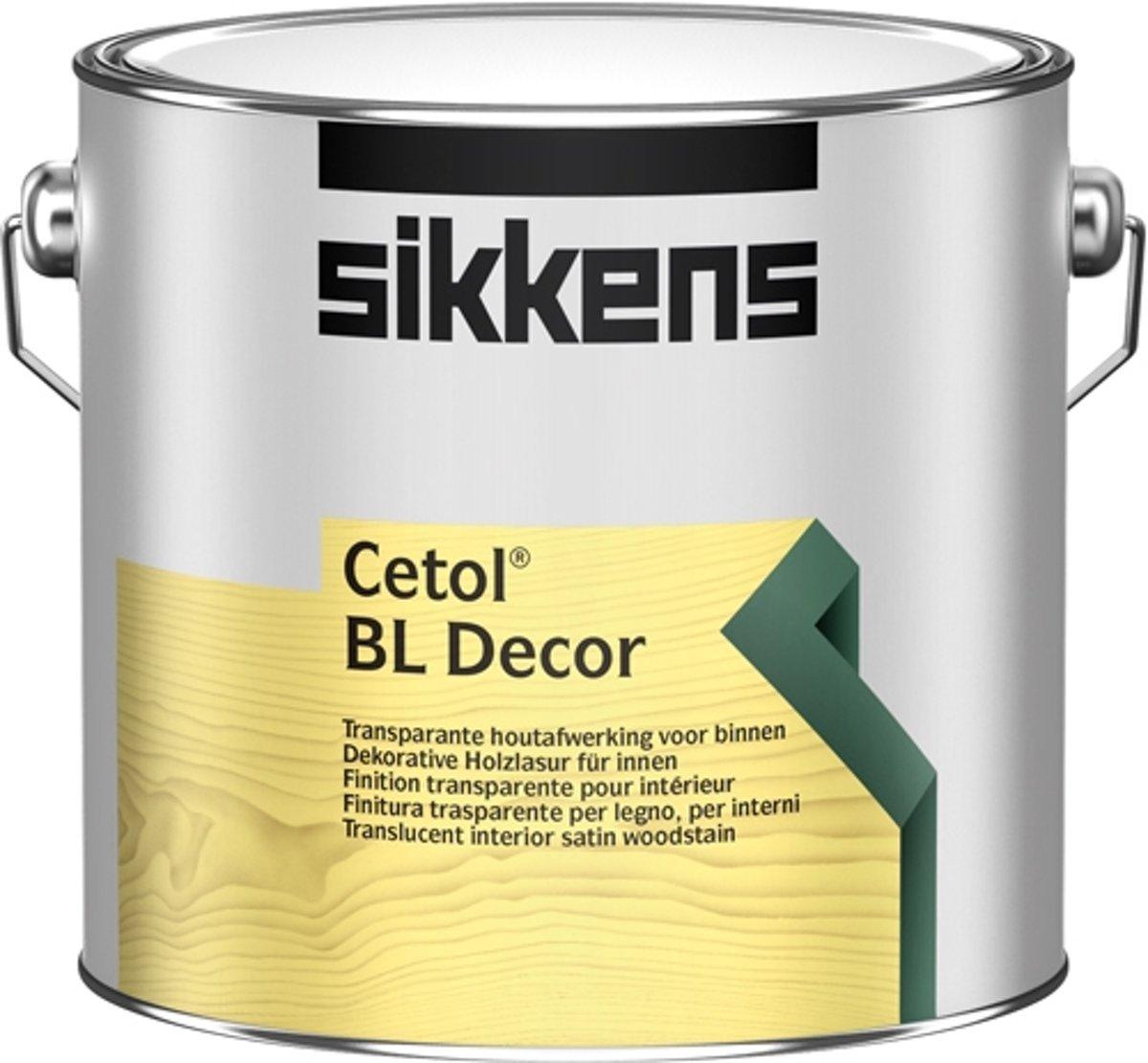 Sikkens Cetol BL Decor - 2,5L - 003 kopen