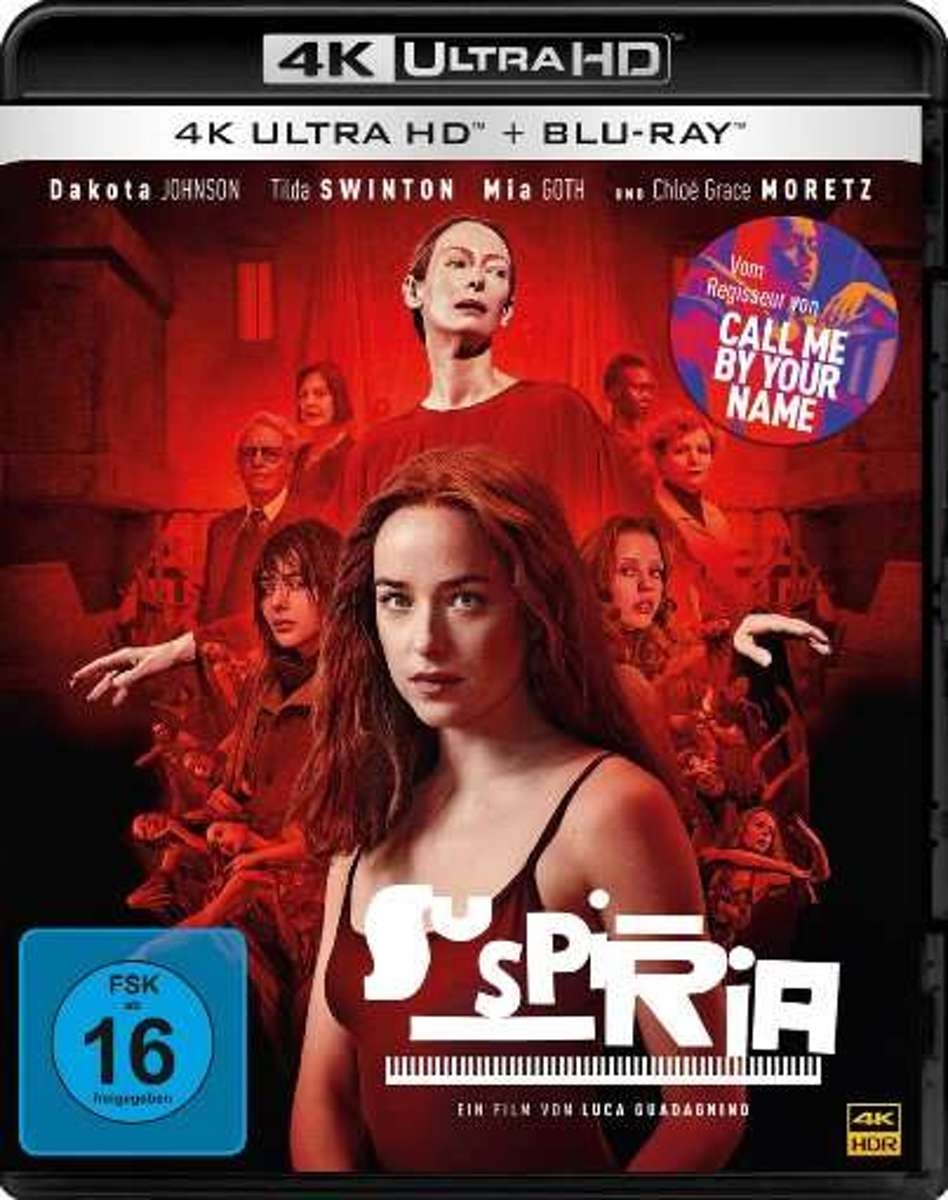 Suspiria (2018) (Ultra HD Blu-ray & Blu-ray)-