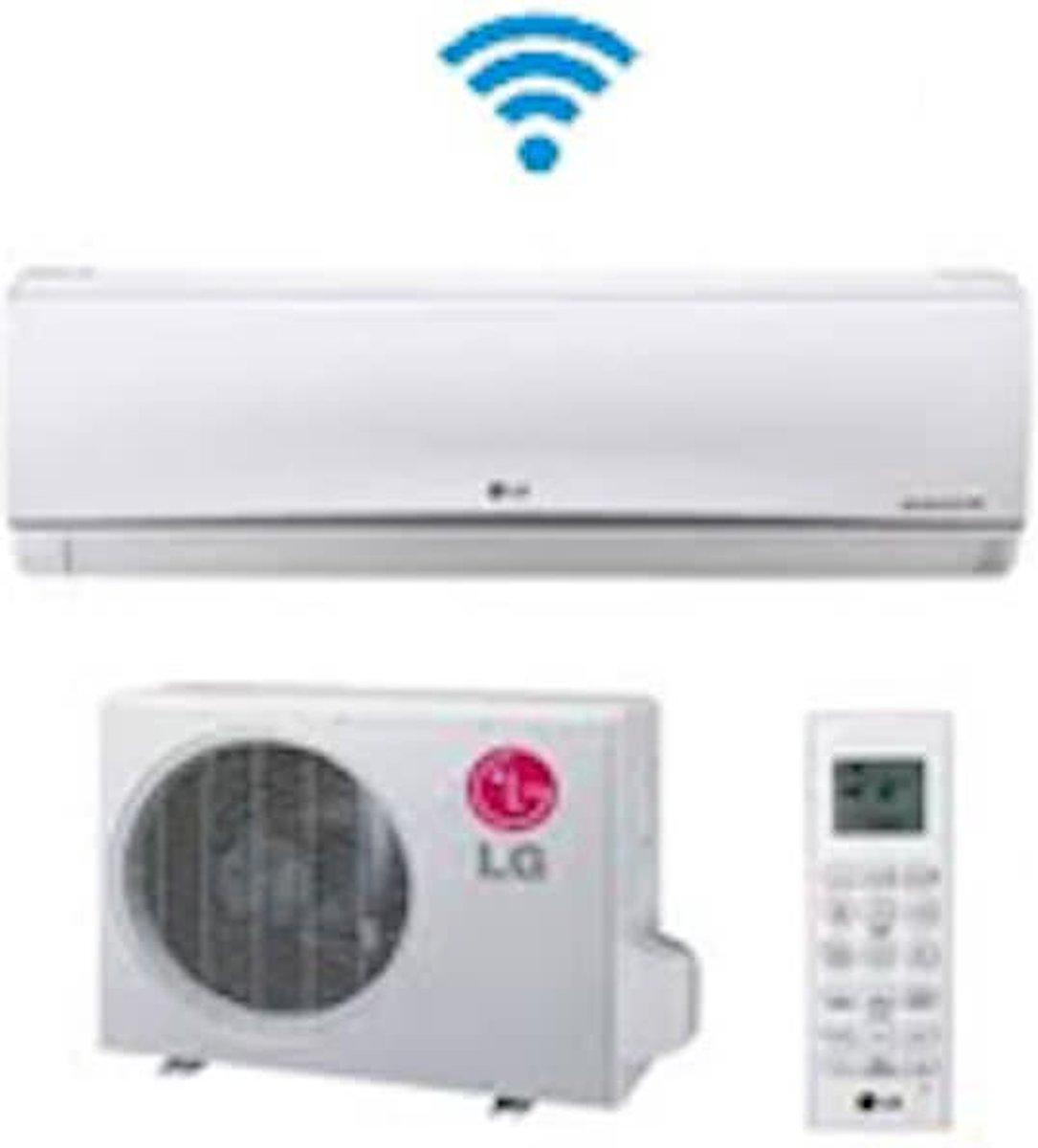LG Standard Plus PC18SQ.NSJ - Split Unit airco systeem voor in huis   Koelen en verwarmen   Inverter model met warmtepomp kopen