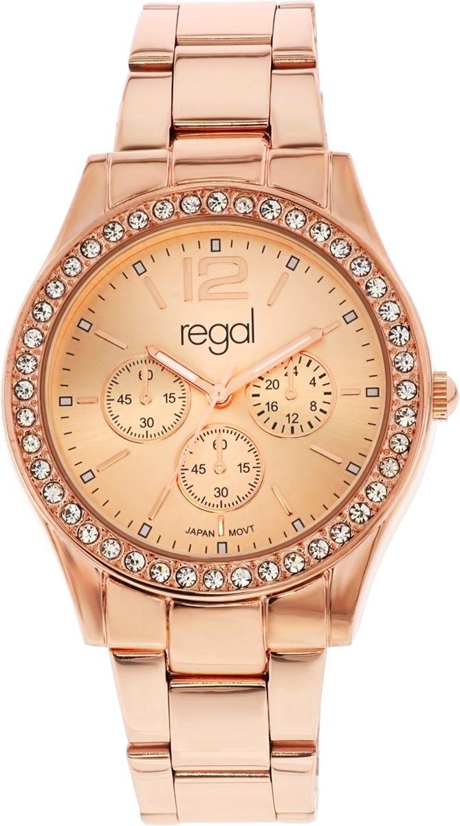 Regal horloge R1934R-032 - Horloge - 38 mm - Staal - Rosékleurig kopen