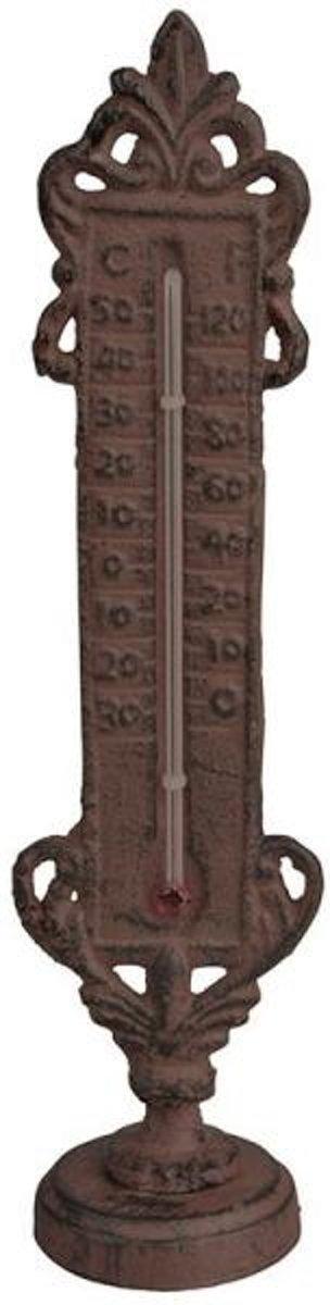 Thermometer staand - gietijzer - set van 2 stuks kopen
