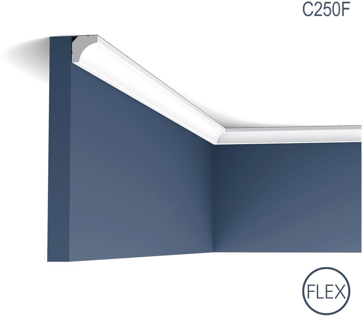 Kroonlijst flexibel Origineel Orac Decor C250F LUXXUS Plafondlijst Sierlijst flexibel 2 m kopen