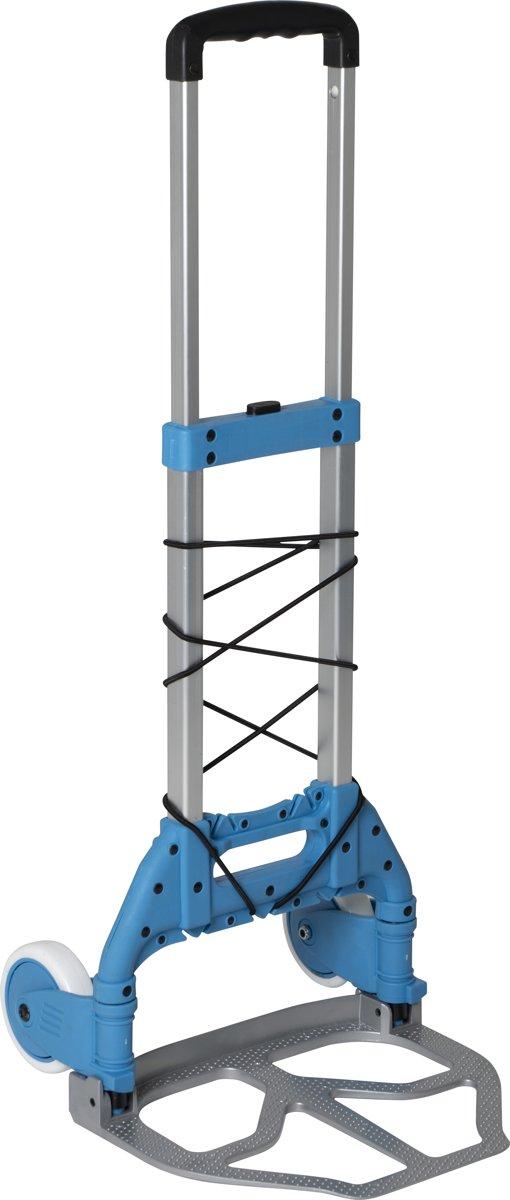 Bo-Camp Bagagetrolley - Inklapbaar - Aluminium - 75 Kg kopen